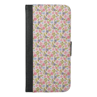 BlumeniPhone 6/6s plus Geldbörsen-Kasten iPhone 6/6s Plus Geldbeutel Hülle