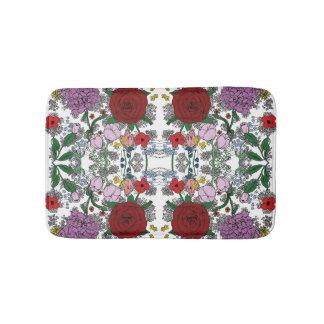 BlumenKaleidoskop-Badematte Badematte