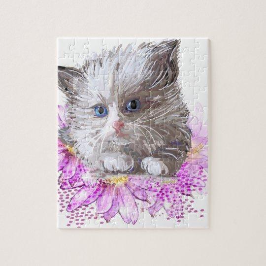 Blumenkatze - Meow
