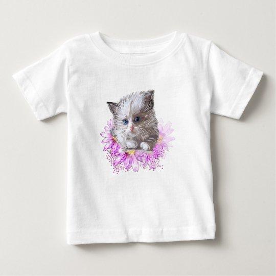 Blumenkatze - Meow Baby T-shirt