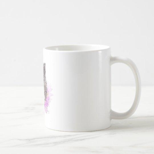 Blumenkatze - Meow Tasse
