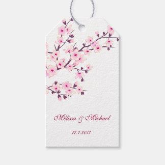 Blumenkirschblüten Geschenkanhänger