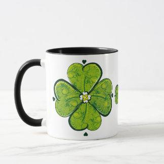 Blumenklee-Tasse Tasse