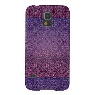 Blumenkönigliches antikes Luxusmuster Galaxy S5 Cover