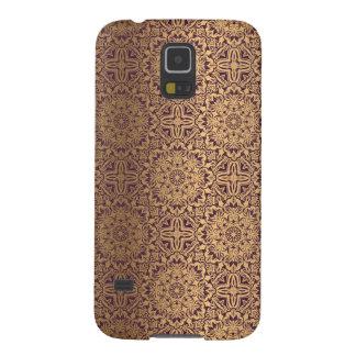 Blumenkönigliches antikes Luxusmuster Samsung Galaxy S5 Hülle