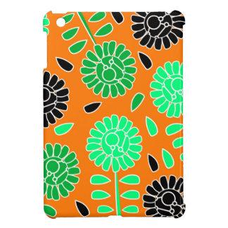 Blumenkontrastorange iPad Mini Schale