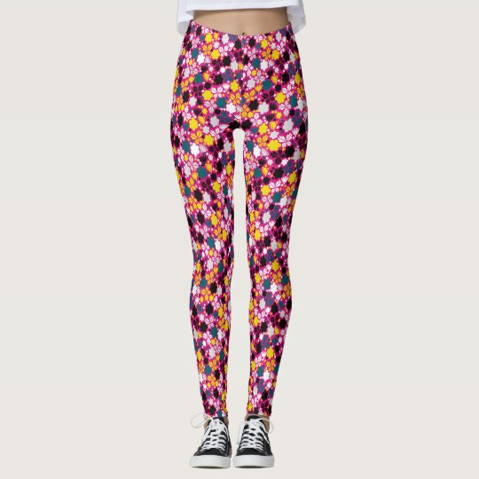 Blumenlegging Leggings