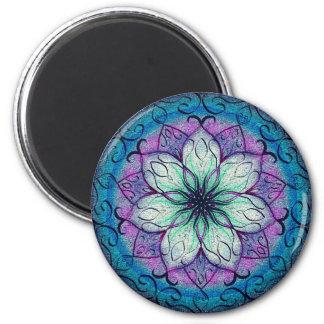 Blumenmagnet Runder Magnet 5,1 Cm