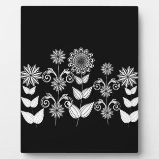 Blumenmuster 5 fotoplatte