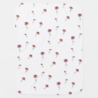 Blumenmuster-Baby-Decke Babydecke
