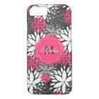 Blumenmuster des schönen girly modischen iPhone 8/7 hülle