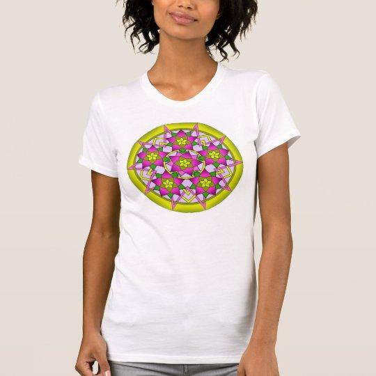 Blumenmustert-shirt T-Shirt