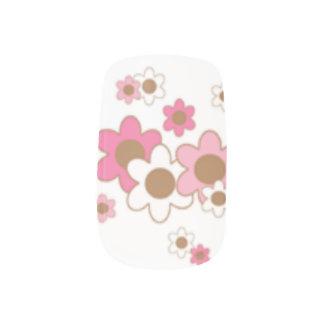 Blumennagelkunst Minx Nagelkunst