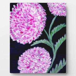 Blumenstrauß der Blumen-Kunst Fotoplatte