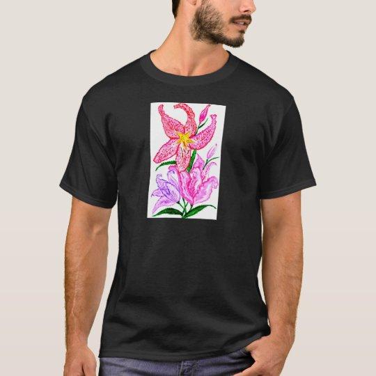Blumenstrauß der Lilien-Blumen T-Shirt