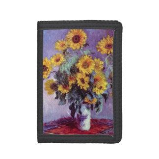 Blumenstrauß der Sonnenblumen durch Claude Monet,