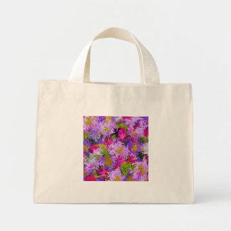 Blumenstrauß Farbdes abstrakten Kunst-mit Mini Stoffbeutel