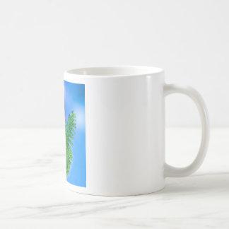 Blumenstrauß mit ferns.PNG Tasse