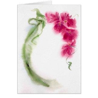 Blumenstrauß Notecard Karte