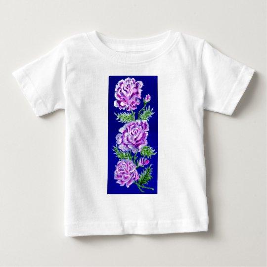 Blumenstrauß von Rosen WC Baby T-shirt