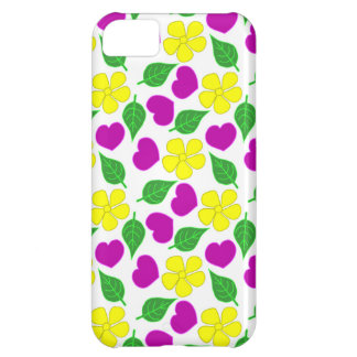 Blumentelefon-Kasten iPhone 5C Hülle