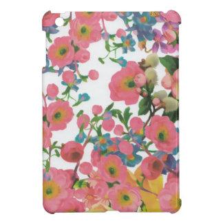 Blumenthemamuster der Vintagen eleganten Blumen iPad Mini Cover