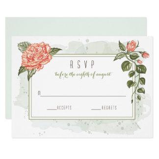 Blumenumarmungs-Hochzeit UAWG Karte