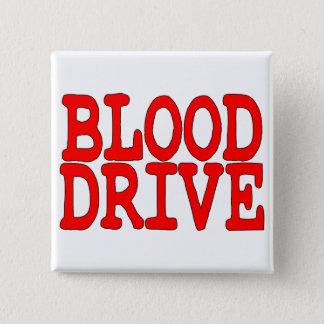 Blut-Antrieb Quadratischer Button 5,1 Cm