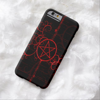 Blut-Hexe-SchmutzPentagram iPhone 6 Fall Barely There iPhone 6 Hülle