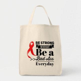 Blut-Krebs ist stark Tragetasche