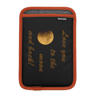Blut-Mond am 27. September 2015 Sleeve Für iPad Mini