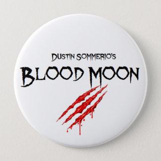 Blut-Mond-Knopf Runder Button 10,2 Cm