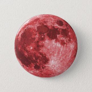 Blut-Mond Runder Button 5,1 Cm