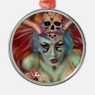 Blutbad Silbernes Ornament
