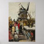 Blute-Aileron de Van Gogh Le Moulin de Posters