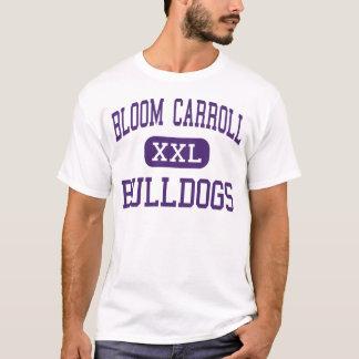 Blüte Carroll - Bulldoggen - hoch - Carroll Ohio T-Shirt