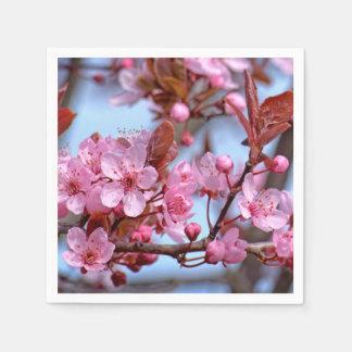 Blüte der Kirsche Servietten