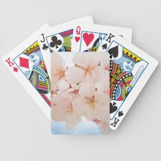 Blüte in Pantone Lapis Blau Bicycle Spielkarten