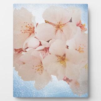 Blüte in Pantone Lapis Blau Fotoplatte