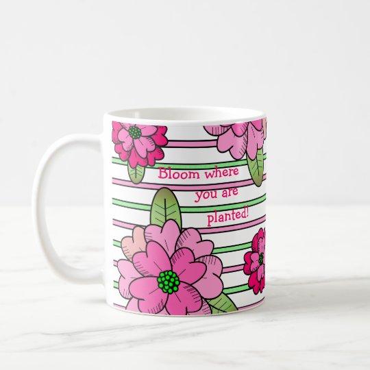 Blüte! Kaffeetasse
