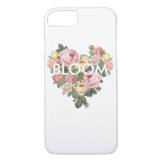 Blüten-Blumen-Herz-Telefon-Kasten iPhone 8/7 Hülle
