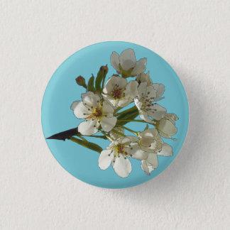 Blüten der Wiedergeburt Runder Button 3,2 Cm