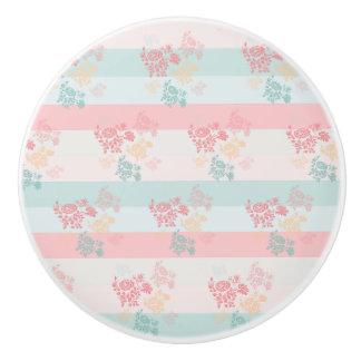 Blüten-Keramik-Griff Keramikknauf