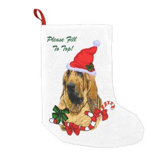 Bluthund-Weihnachten Kleiner Weihnachtsstrumpf