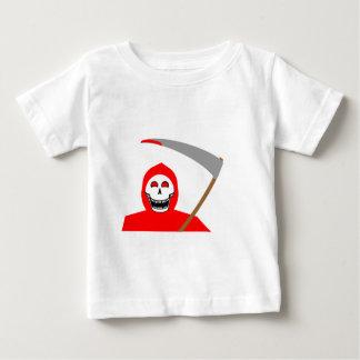 Blutiger grimmiger Sensenmann Baby T-shirt