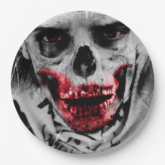 Blutiges Zombie-Apokalypse-Party-Papierplatte Pappteller