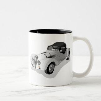 bmw-158703 bmw, Auto, Roadster, Sportauto, automob Zweifarbige Tasse