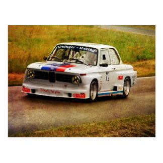BMW-Racing Postkarte