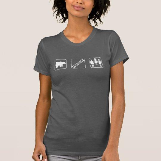 BNL Code - Weiß T-Shirt