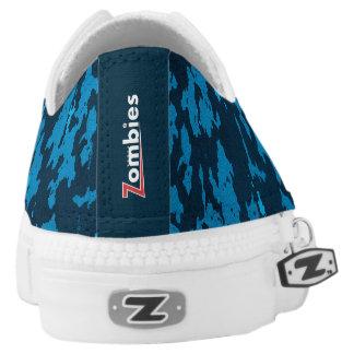 BoardZombies niedrige Spitzenturnschuh-blaue Niedrig-geschnittene Sneaker